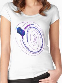 TARDIS2 Women's Fitted Scoop T-Shirt