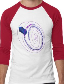 TARDIS2 Men's Baseball ¾ T-Shirt
