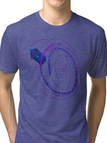 TARDIS2 Tri-blend T-Shirt
