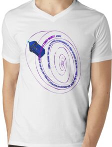 TARDIS2 Mens V-Neck T-Shirt