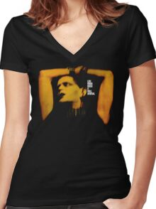 Lou Reed Rock N Roll Animal Women's Fitted V-Neck T-Shirt