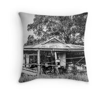 The Farmers Shed Throw Pillow