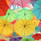 umbrella rainbow by natalie angus