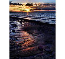 Sand Patterns Photographic Print