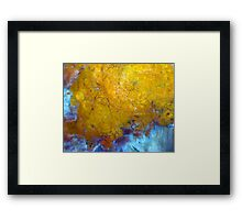The Great Big Ball In The Sky Framed Print