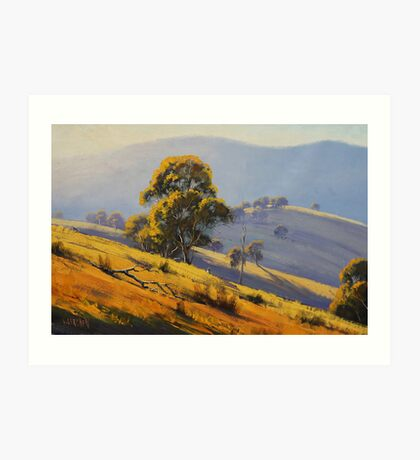 Summer Landscape Turon Art Print