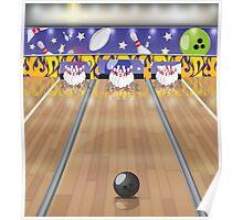 Ten-pin bowling Poster