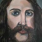 detail of jesus by Ongie