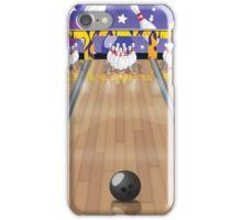 Ten-pin bowling iPhone Case/Skin