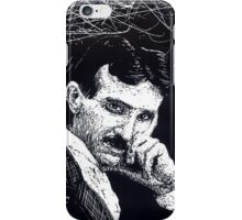 Tesla iphone case iPhone Case/Skin