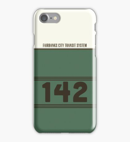 Into The Wild - Bus 142 iPhone Case iPhone Case/Skin