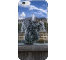 Trafalgar Square  fountain iPhone Case/Skin
