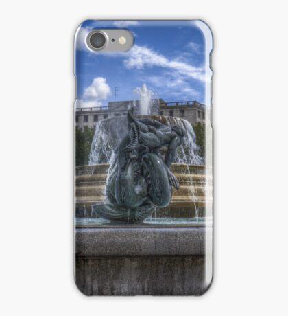Trafalgar Square  fountain iPhone Case/Skin
