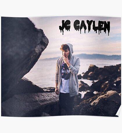 Jc Caylen beach  Poster