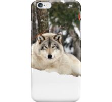 I am watching you - Timber Wolf iPhone Case/Skin