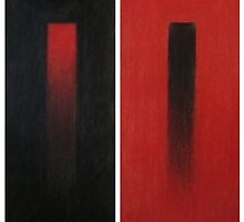 Red/Black Diptych by Thea (tatefox)