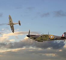 Spitfire - 'Home and Tea' by warbirds