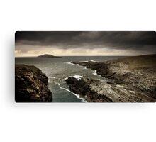 Eagle Island, Co Mayo, Ireland. Canvas Print