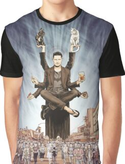Wil Anderson - Wiluminati (textless) Graphic T-Shirt