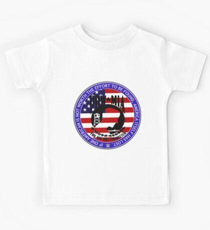 Even 1 American POW-MIA Kids Tee