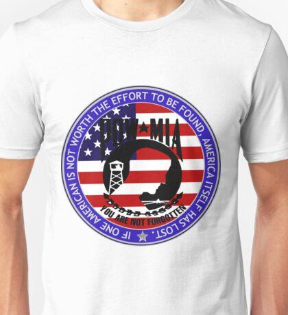 Even 1 American POW-MIA Unisex T-Shirt