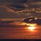 Sunset with Islands - Puesta del Sol con Islas Marietas by PtoVallartaMex