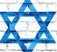 I Stand With Israel Round Logo Sticker