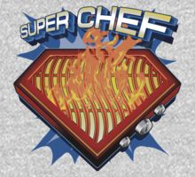 SUPER CHEF: BBQ MASTER! One Piece - Long Sleeve