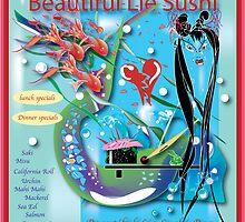 Beautiful Lie Sushi Bar by Meg Ackerman