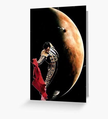 Matador Moon Greeting Card