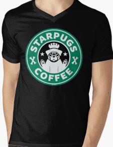 Starpugs Coffee Mens V-Neck T-Shirt