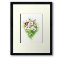 Daisy Bouquet Framed Print