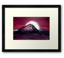 Trapped In A Solitude Framed Print