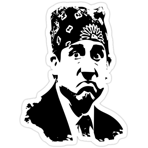The Office Prison Mike -  Steve Carrell by MrJamma