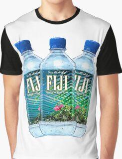 Fiji Water Bottles Graphic T-Shirt