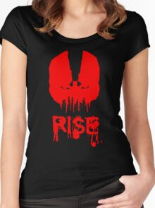 Bane ( Batman the Dark Knight Rises ) Women's Fitted Scoop T-Shirt