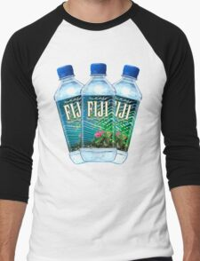 Fiji Water Bottles Men's Baseball ¾ T-Shirt