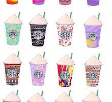 Starbucks drinks by lobsters123
