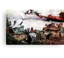 Terror In The Wasteland Canvas Print
