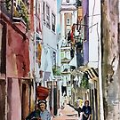 One Sunny Day in Alfama by Jo-anne Corteza