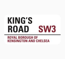 Kings Road Sign by StreetsofLondon