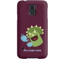 Tea-ceratops Samsung Galaxy Case/Skin
