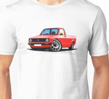 VW Caddy Red Unisex T-Shirt