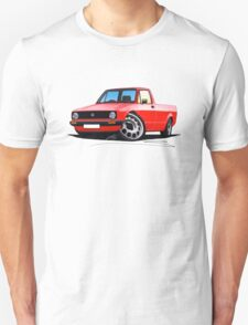 VW Caddy Red T-Shirt