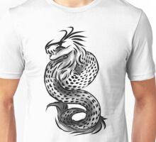 Grayscale dragon Unisex T-Shirt