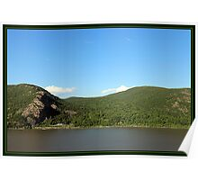 BLUE SKIES-GREEN MOUNTAINS Poster