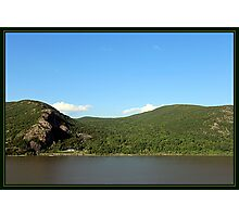 BLUE SKIES-GREEN MOUNTAINS Photographic Print