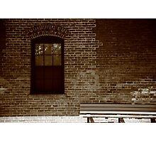 Little Falls, NJ - Train Depot Photographic Print