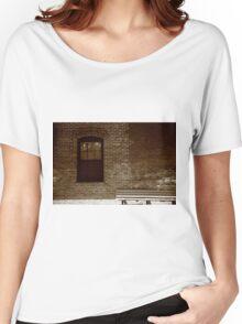 Little Falls, NJ - Train Depot Women's Relaxed Fit T-Shirt