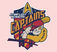 Starfleet Academy Captains Baseball Baby Tee
